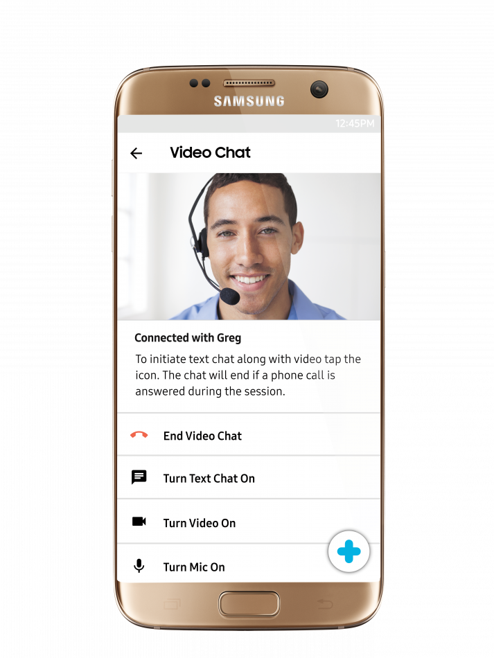 Samsung+ 3.0_Video Chat