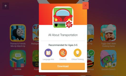 Samsung Kids App Screenshot