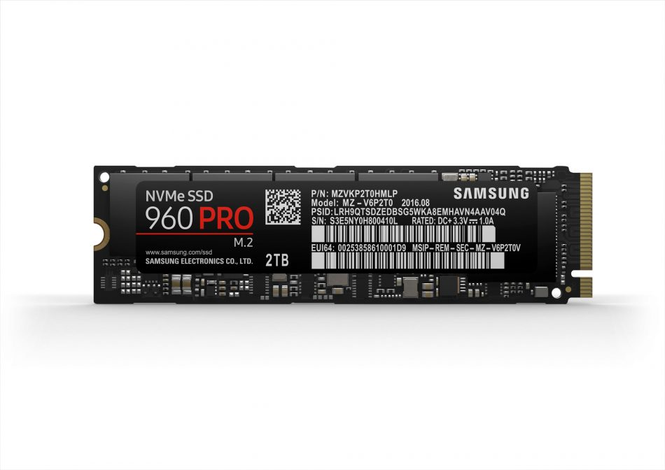 Samsung 960 PRO Solid State Drive