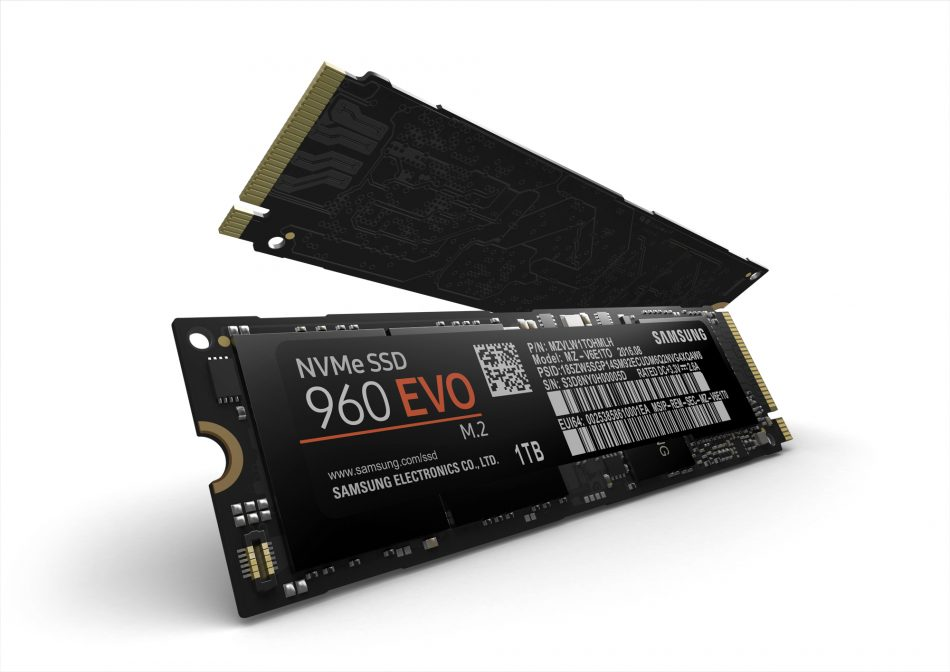 Samsung 960 EVO Solid State Drives