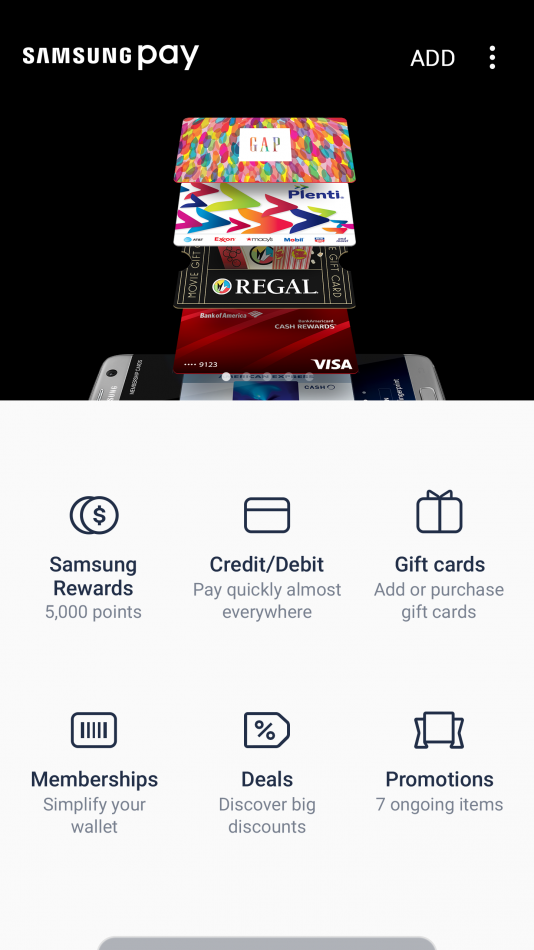 SAMSUNG PAY SAMSUNG REWARDS