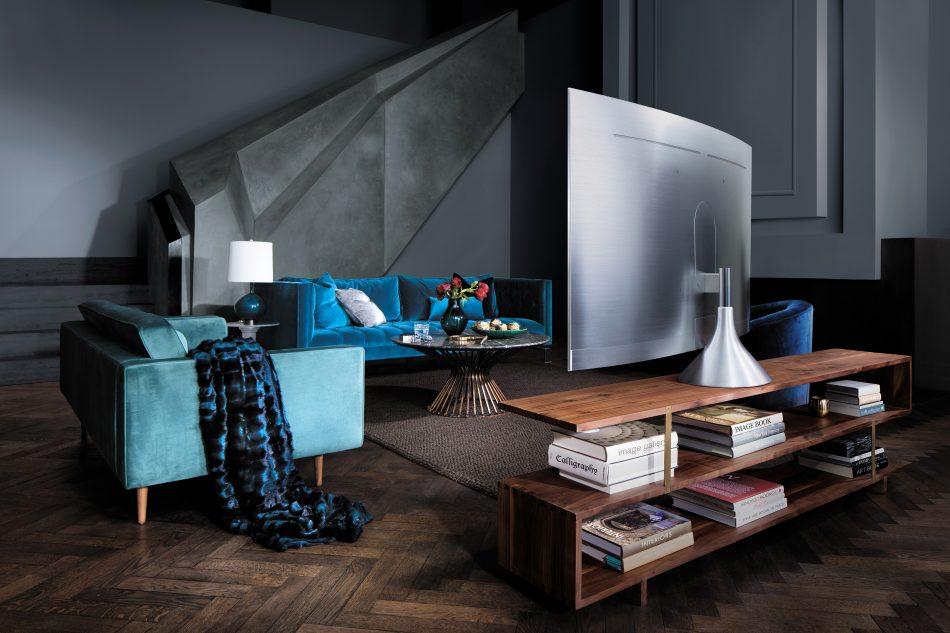Samsung QLED TV - Gravity Stand