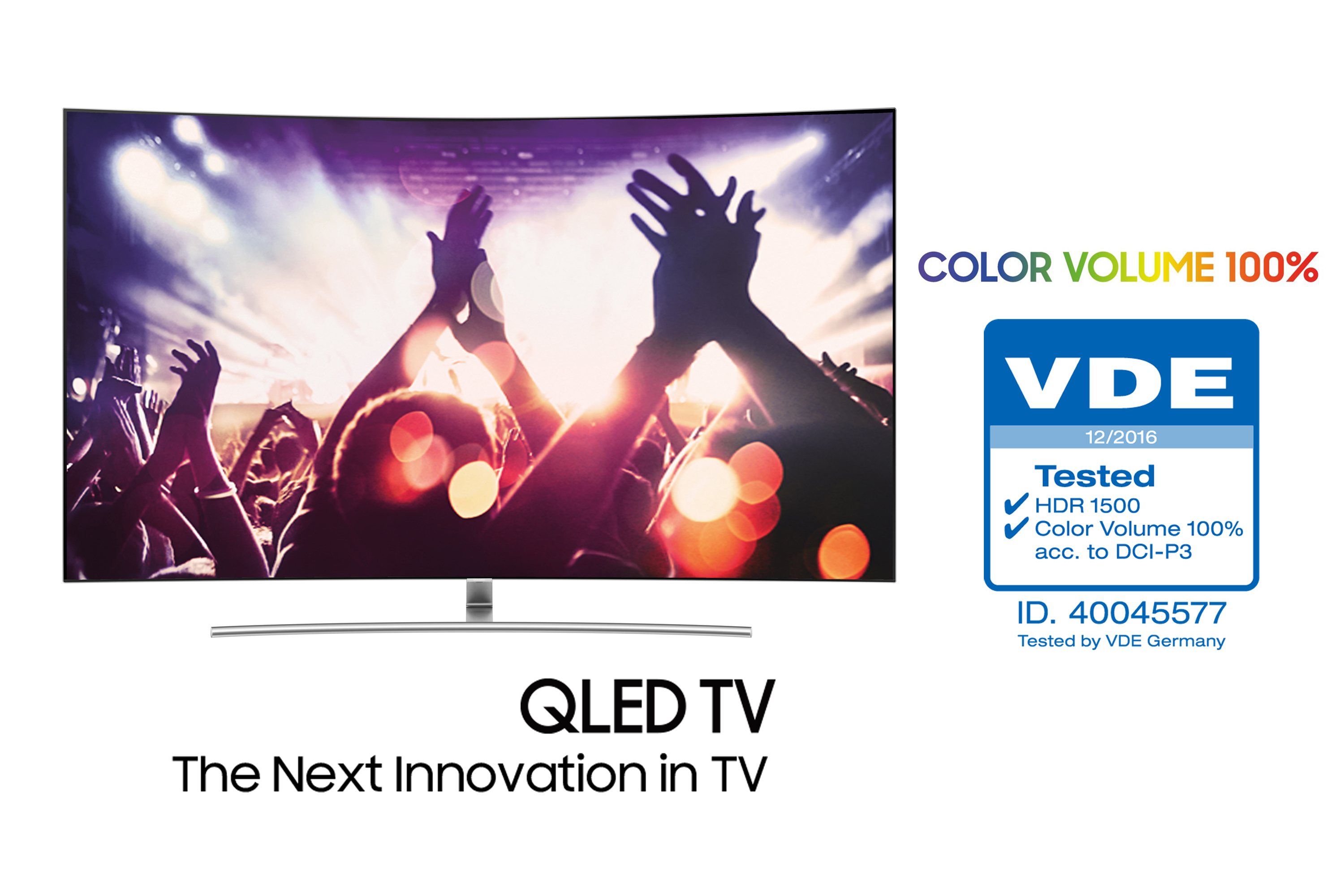 Samsung's New QLED TV Becomes the First '100 Percent Color