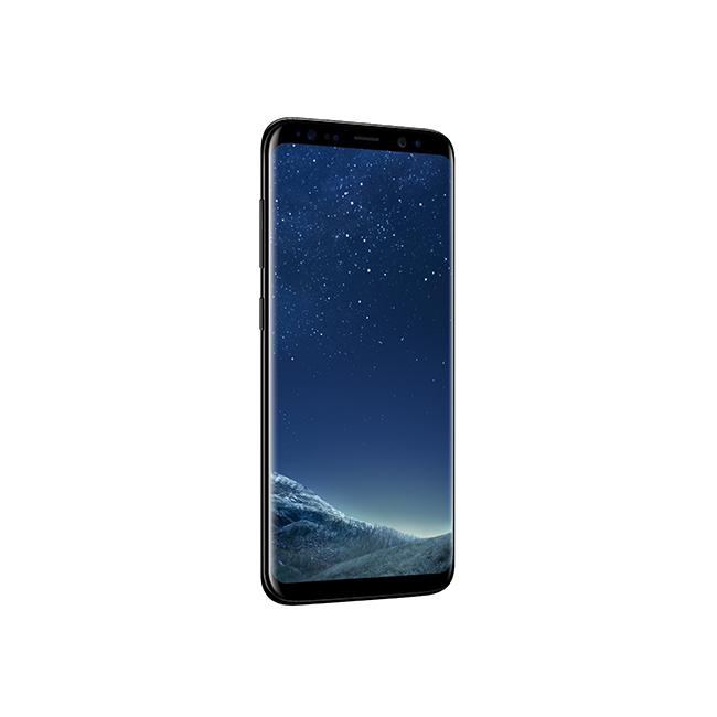 Galaxy S8|S8+ in Midnight Black