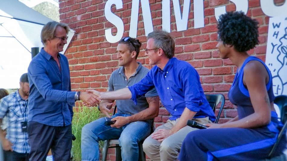 CMO of Samsung Electronics America, Marc Matheiu, joins Creators on stage