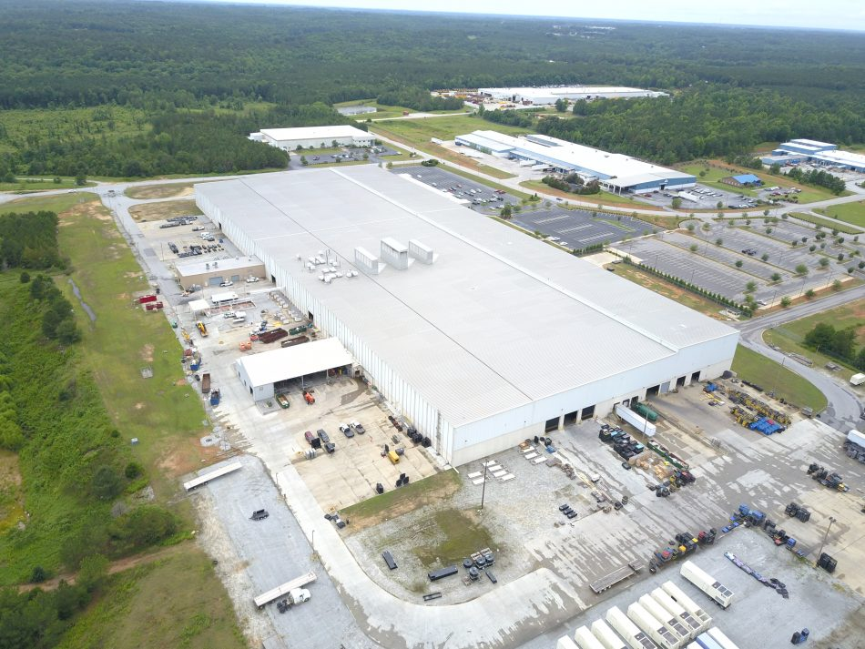 Samsung to open a state-of-the-art home appliance manufacturing plant in Newberry County in South Carolina.