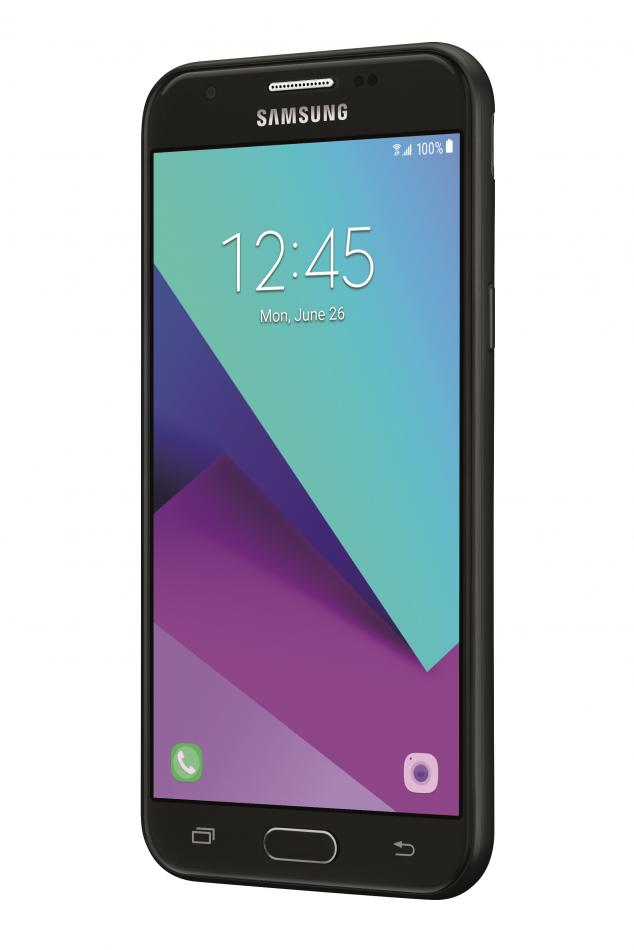 Samsung Galaxy J3 Unlocked, Left