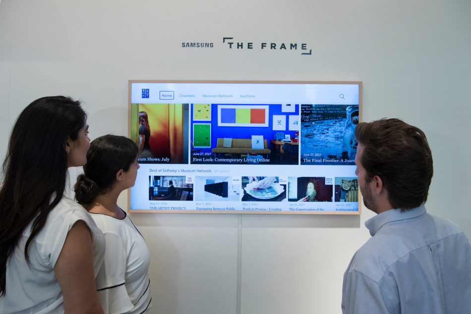 Samsung Partners with Sotheby's, Pushing the Boundaries of Art and