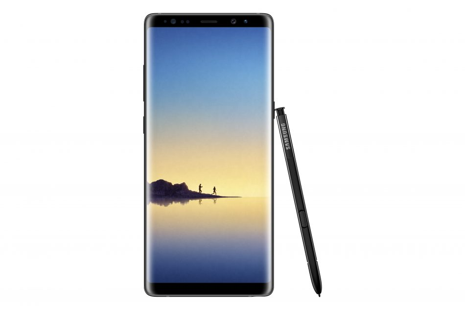 Samsung Galaxy Note8 - Midnight Black