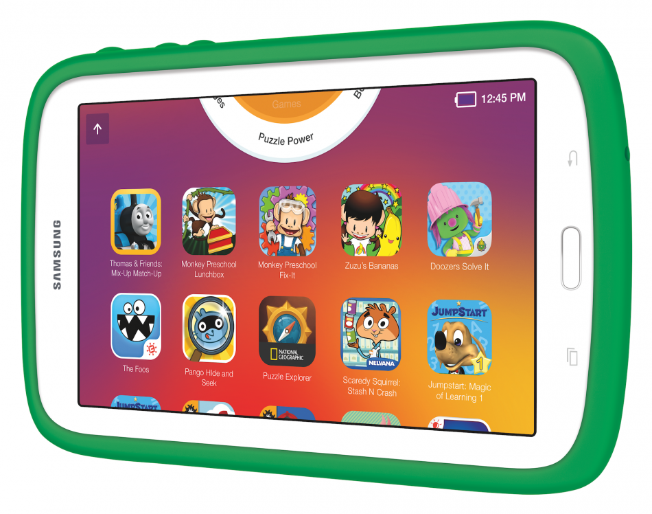 "Samsung Kids Galaxy Tablet 7.0"" – THE LEGO NINJAGO MOVIE Edition"