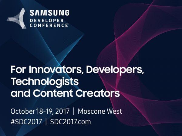 Samsung Developers Conference SDC2017_Invitation