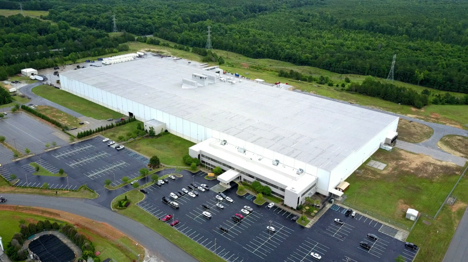Samsung's Newberry, SC, Home Appliances Manufacturing Facility (Aerial Shot)