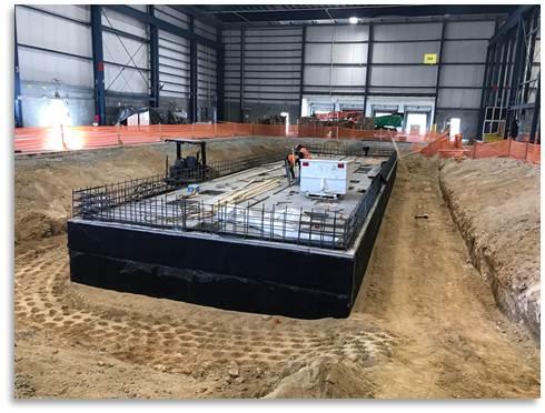 Manufacturing Floor, Foundation Pit Excavation (Photo #3)