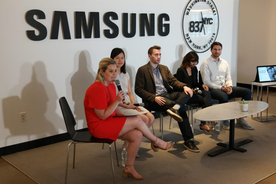 Former Samsung interns came to speak about their experiences at Samsung and give advice to current interns on how to make the most of your summer.