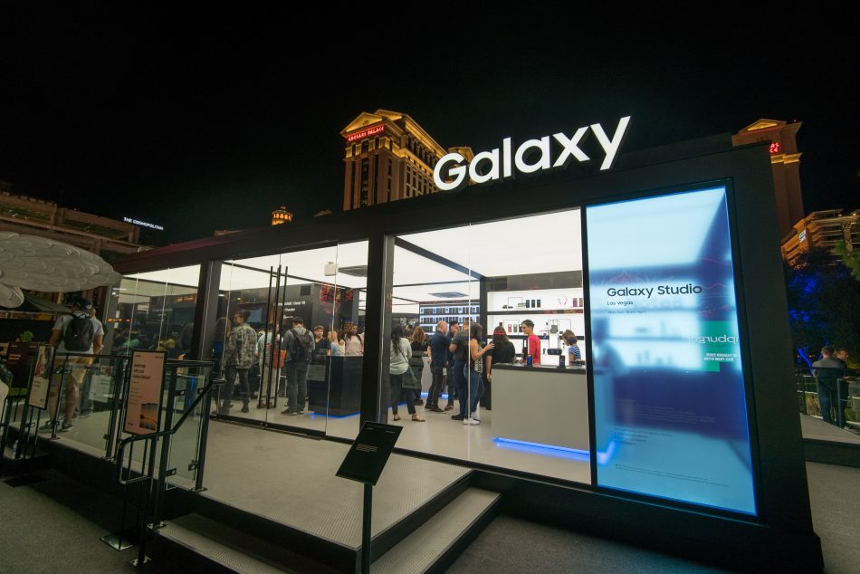 Samsung celebrated the launch of its fifth Galaxy Studio at Caesars Palace in Las Vegas, NV