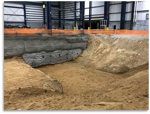 Manufacturing Floor, Foundation Pit Excavation (Photo #2)