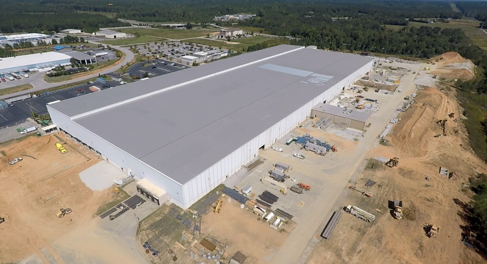 Samsung's South Carolina Home Appliance Manufacturing Facility, Aerial View