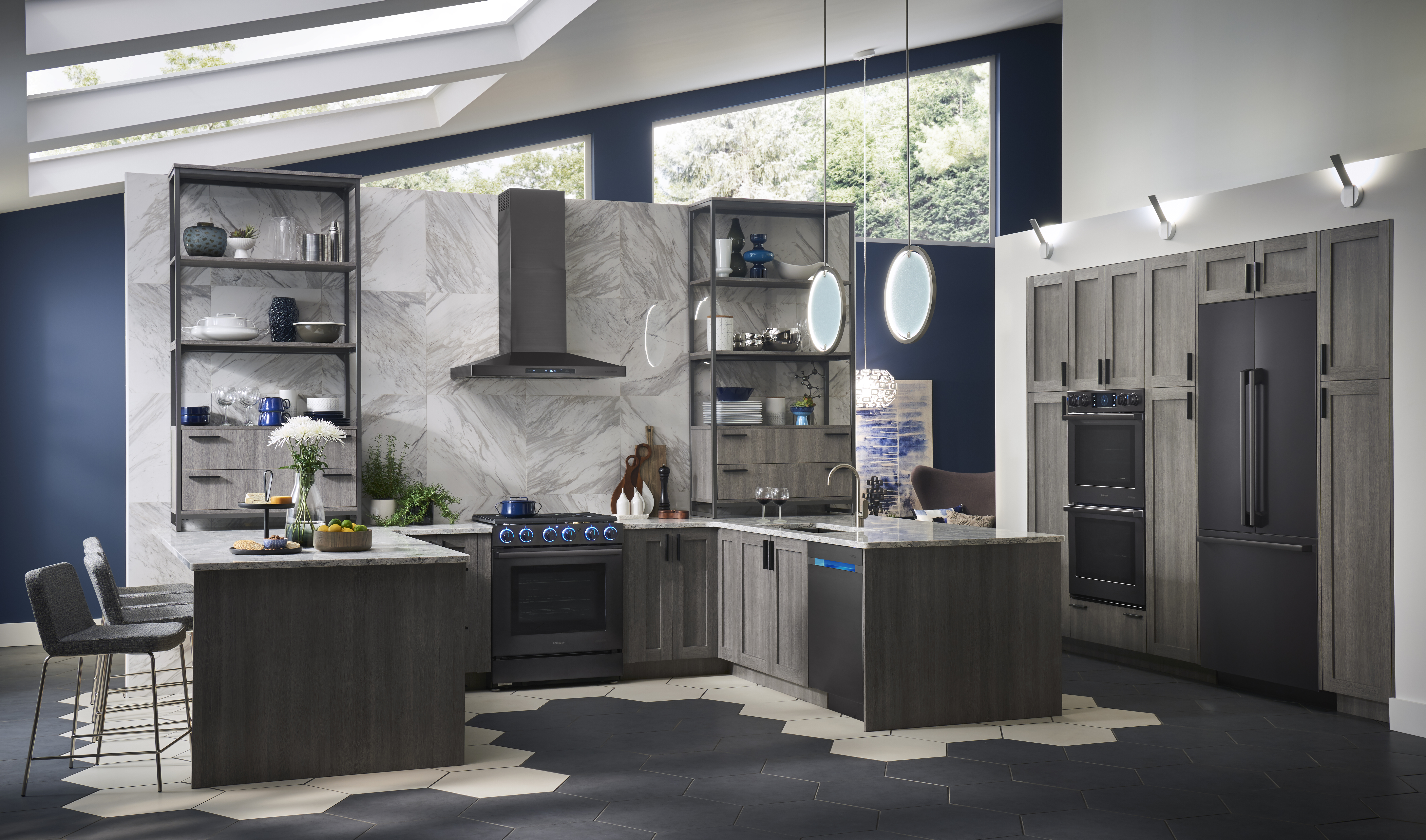 The Modern Kitchen, Designed for Real Life: Samsung ...