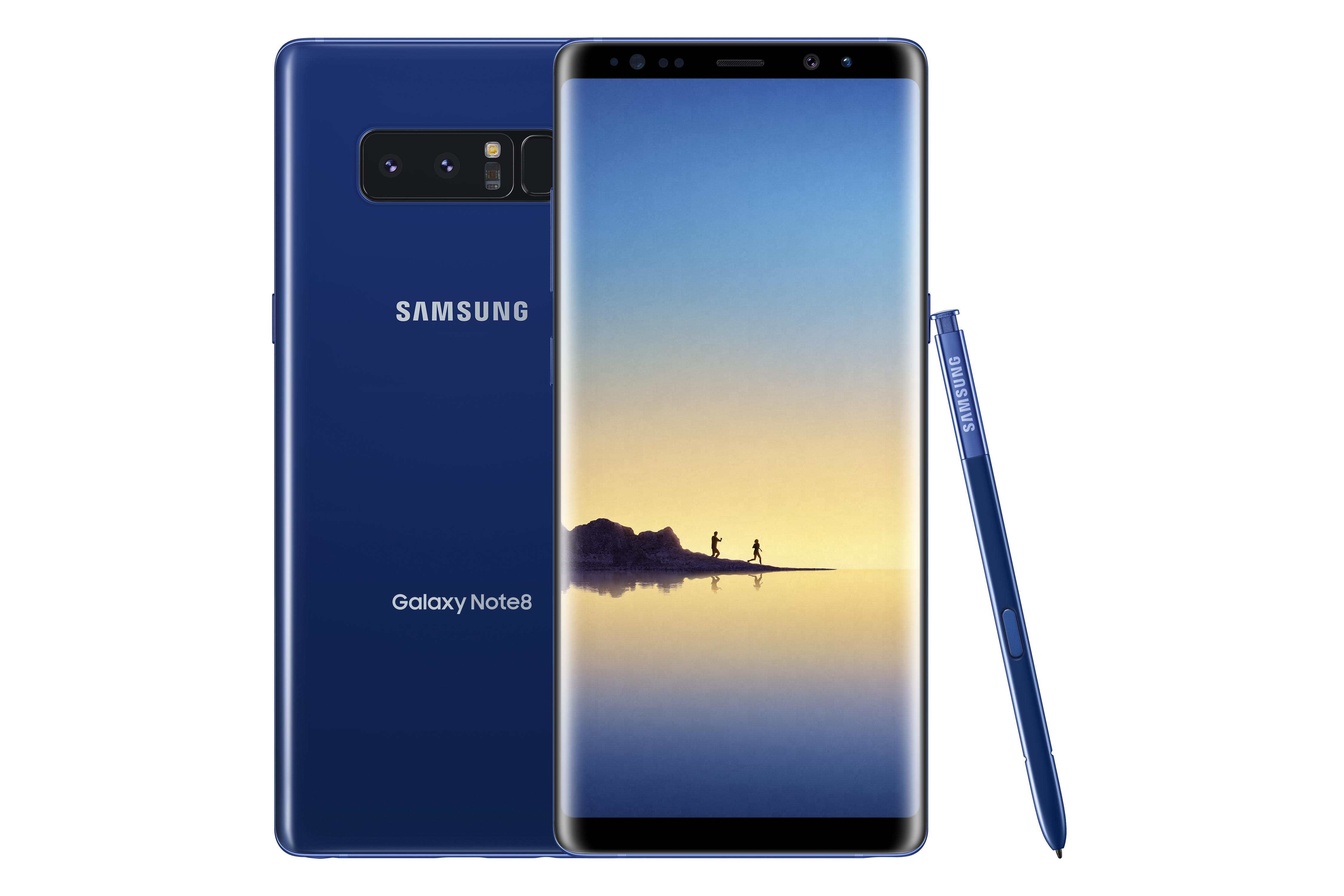 fd63e94ba6dfe3 Samsung adds Deepsea Blue color to Galaxy Note8 Portfolio in the U.S.
