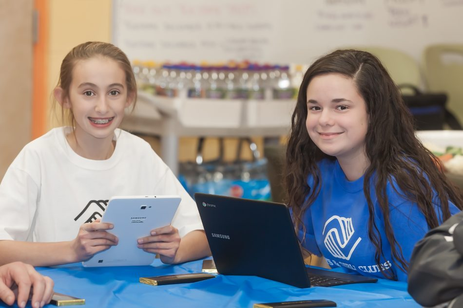 Members of the Boys & Girls Club of Greater Westfield celebrate winning the 3rd Annual Climate Superstars Challenge, an environmental contest designed to encourage raising awareness about climate change.
