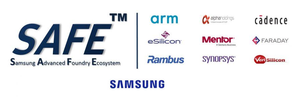 Samsung Advanced Foundry Ecosystem (SAFETM) program logo image