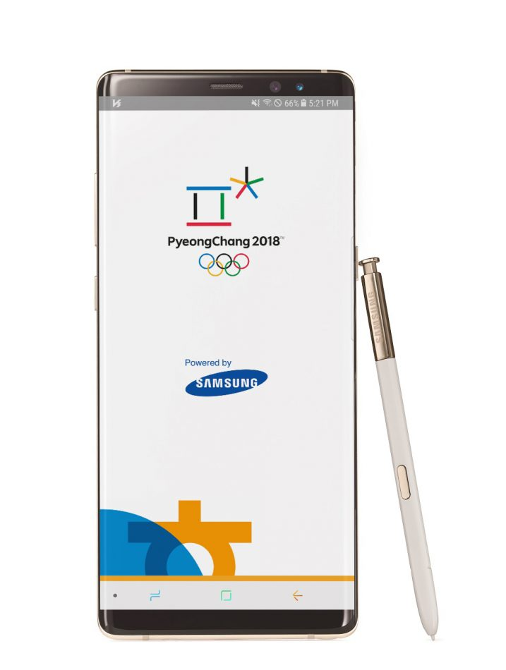 Samsung Official App of PyeongChang 2018 is available for download.