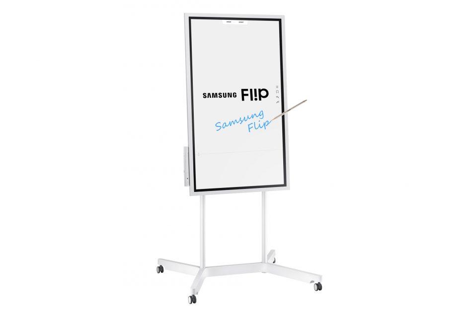 Samsung Flip WM55H digital flip chart display