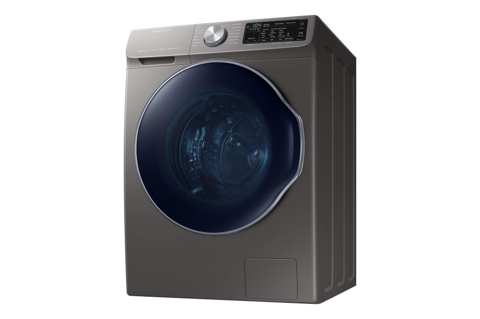 Samsung WW6850N washing machine with QuickDrive™ technology.