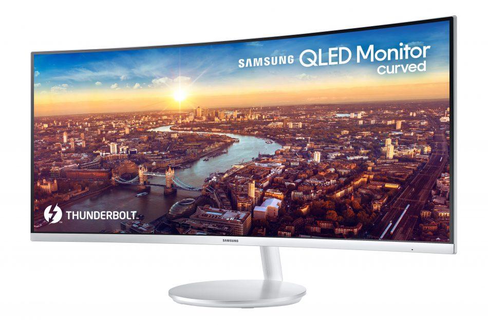 Samsung QLED Curved Monitor, CJ791