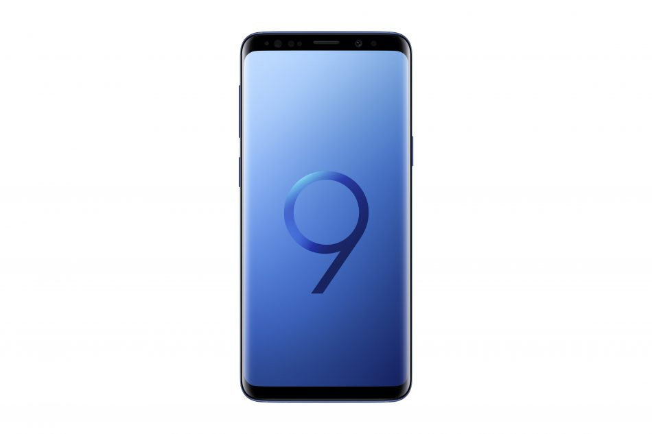 Samsung Galaxy S9, Coral Blue