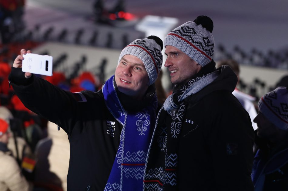 Olympians from Slovakia at the Olympic Winter Games PyeongChang 2018 Opening Ceremony