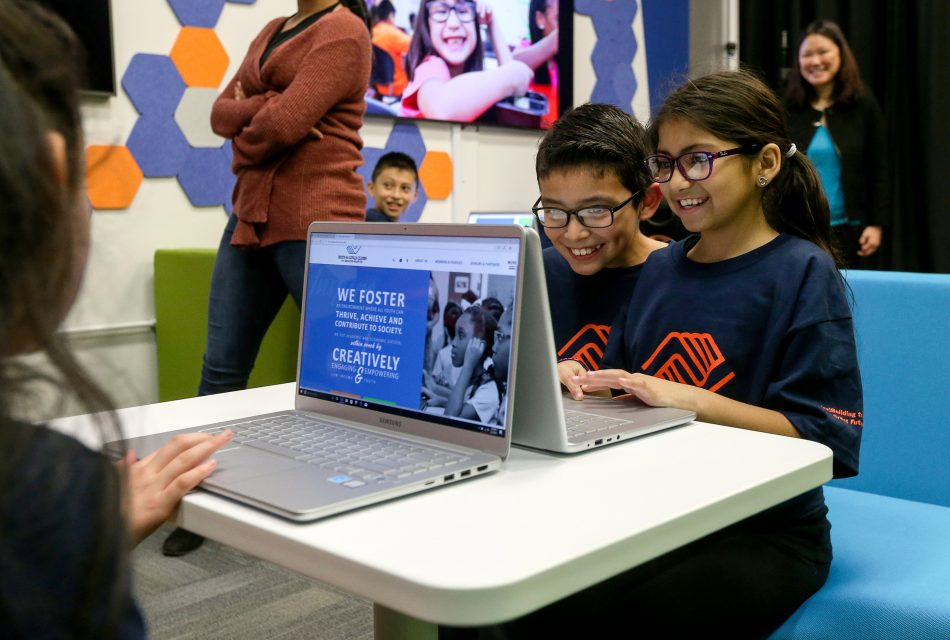Young members of the Boys & Girls Clubs of Greater Houston were surprised with new Tech Center makeovers as part of Samsung's $1M donation gifted to the Houston community following Hurricane Harvey.