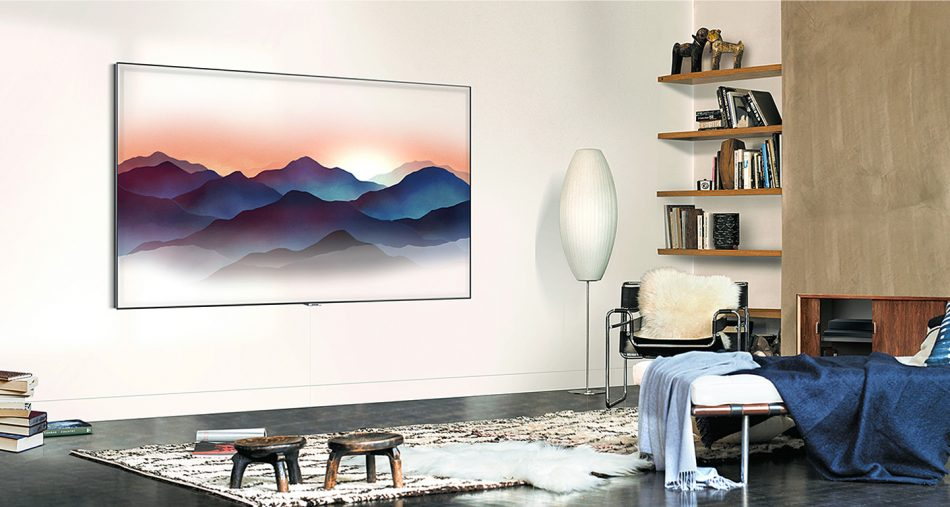 Samsung QLED TV - Ambient Mode