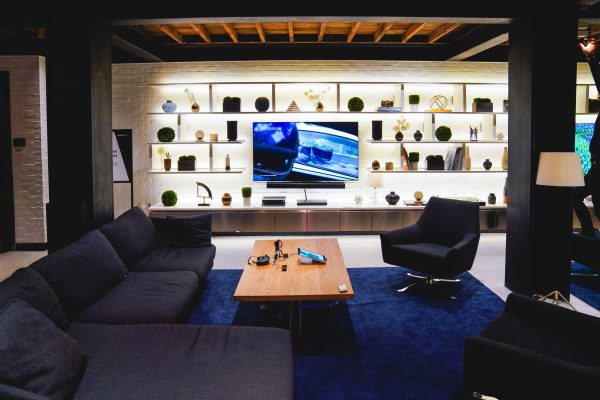 The Samsung 837 Living Room where visitors can experience Samsung's latest Smart TV.