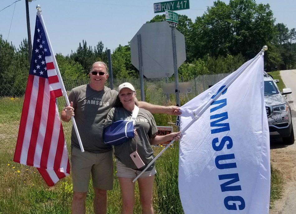 Team Samsung's South Carolina contingent