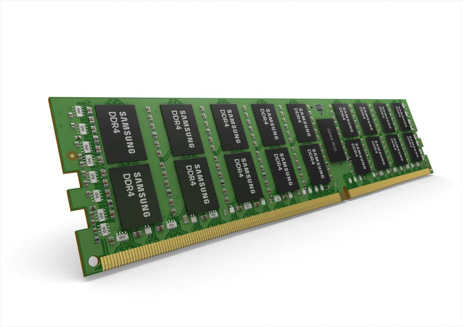16 gigabit (Gb) monolithic 64 gigabyte (GB) DDR4 memory solution