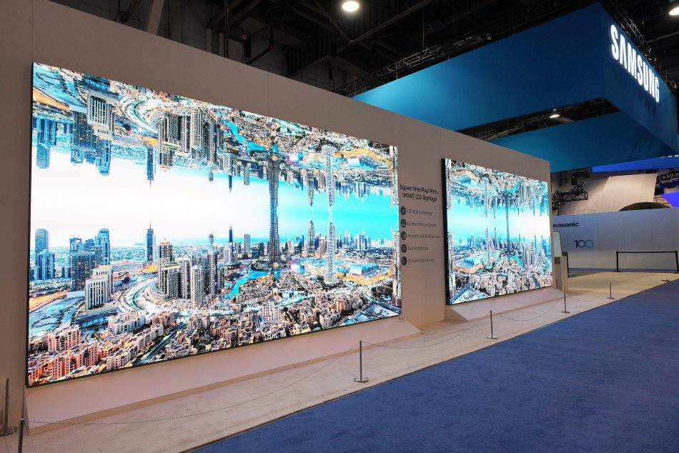 Samsung IF Series LED Signage