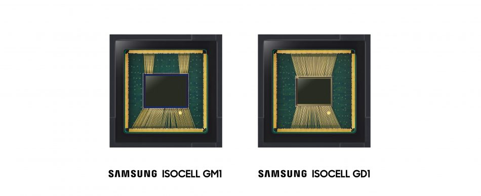 Samsung 48-megapixel (Mp) Samsung ISOCELL Bright GM1 and the 32Mp ISOCELL Bright GD1