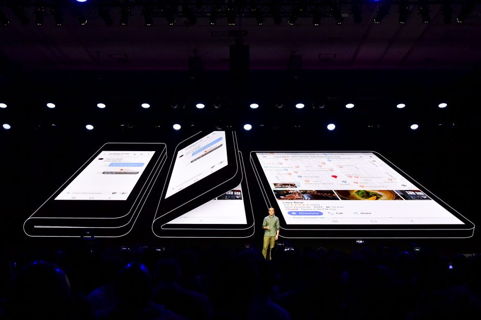 Glen Murphy, Director and Head of Android UX at Google, discussed his company's deep partnership with Samsung before announcing that Android is officially adding support for the Infinity Flex Display's foldable form factor.