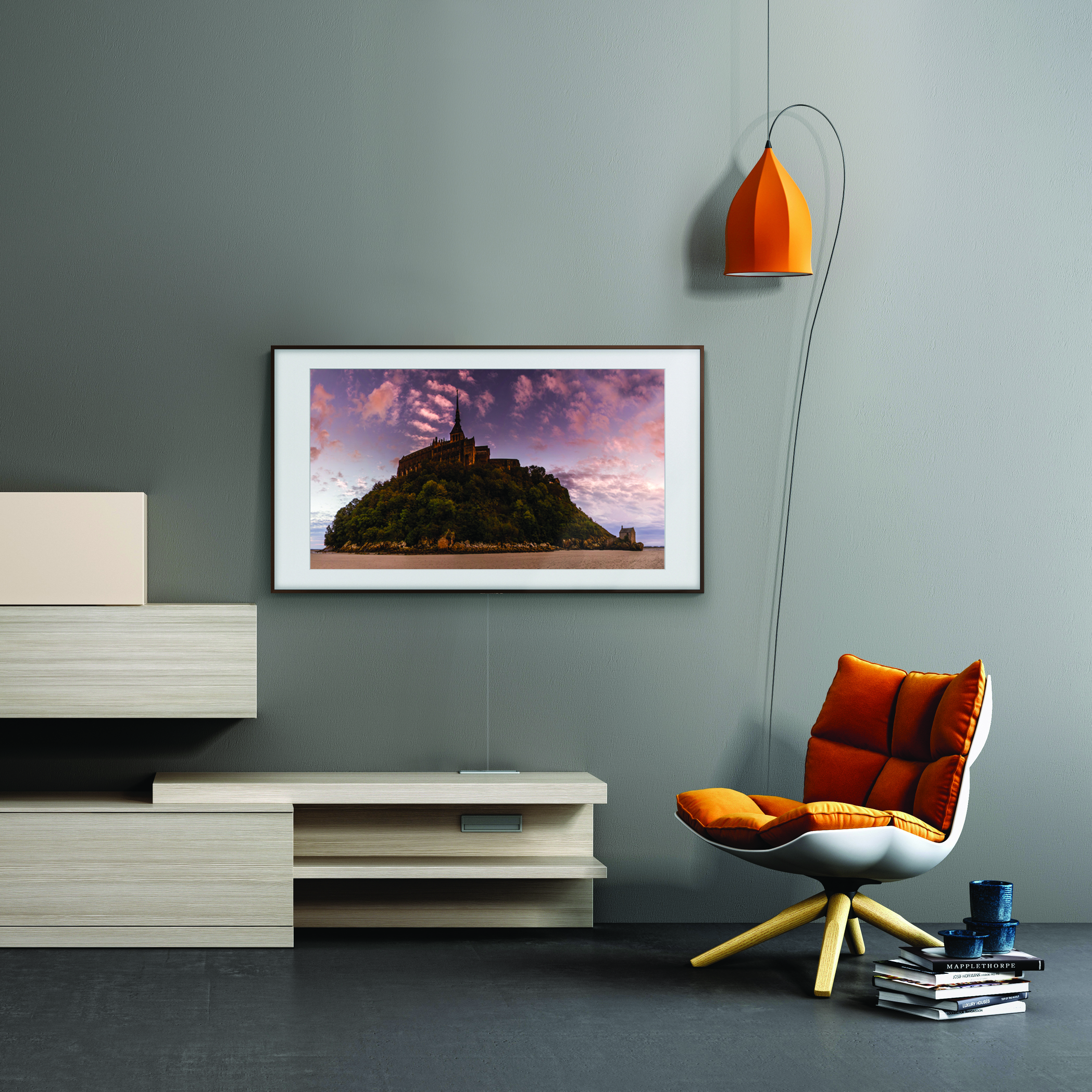samsung announces 2019 lifestyle tvs the frame and serif tv will be on display at ces 2019