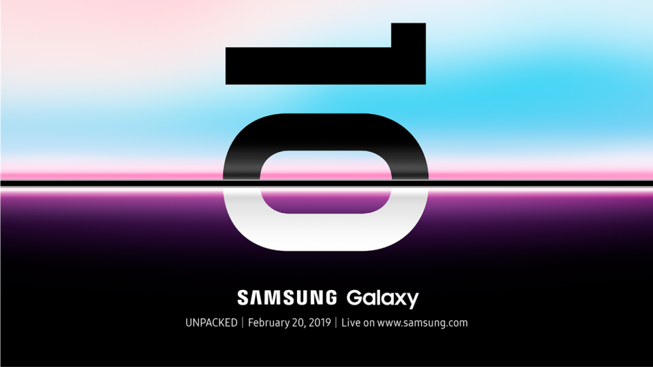 Samsung Galaxy S10 Unpacked Invitation