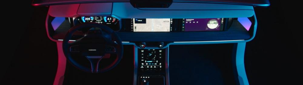 Samsung CES 2019 Booth Video_Digital Cockpit_main2