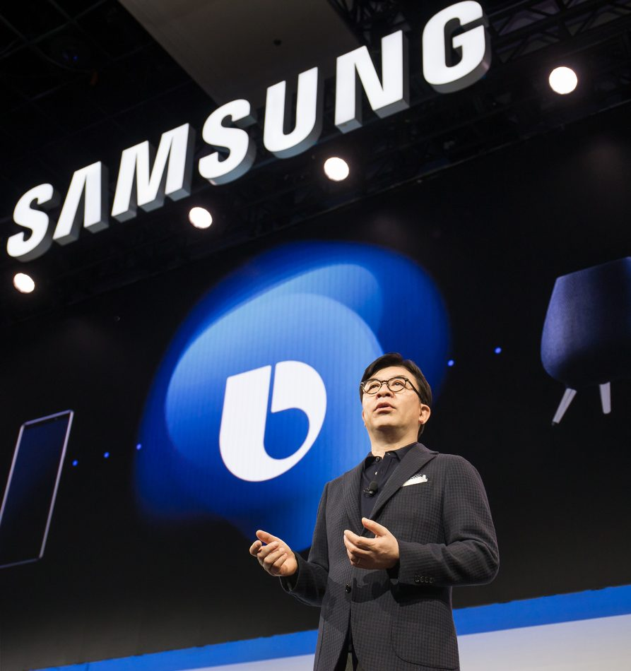 HS Kim, President and CEO of Consumer Electronics Division at Samsung Electronics, unveiled Samsung's vision for Connected Living at the company's CES Press Conference in Las Vegas on Monday, Jan. 7, 2019. Samsung showcased its leadership in AI, IoT, and 5G technologies, and highlighted these as the foundation for next-level consumer experiences across the company's product portfolio.