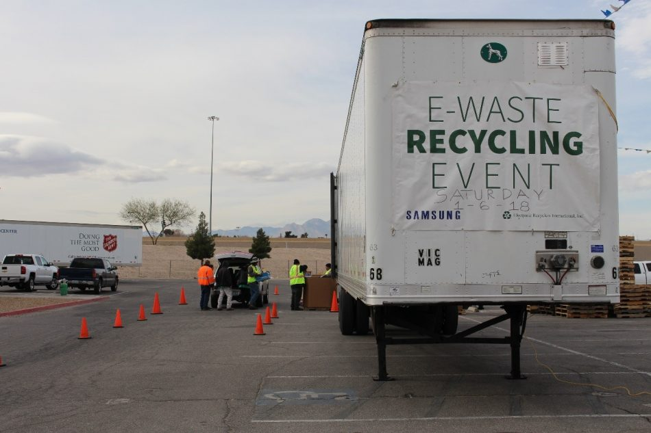 ERI announced today it is joining forces with the Consumer Technology Association (CTA) and Samsung Electronics America, Inc. to provide the City of Las Vegas and early CES® 2019 attendees with a convenient way to recycle unwanted consumer electronics responsibly