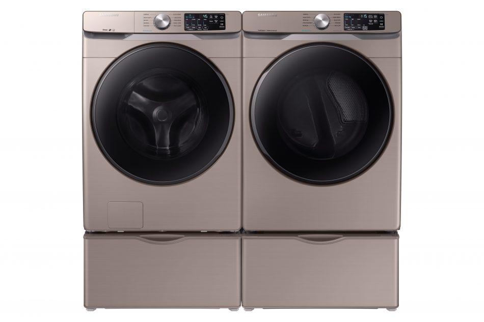 kbis 2019 washer dryer WF/DVE/DVG45R6100 - Champagne