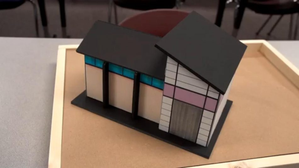 "Garcia's Samsung Solve for Tomorrow team designed ""Casa de Samsung,"" a scale model of the natural-disaster temporary housing idea that earned the team a National Finalist title and $50,000 in Samsung technology."