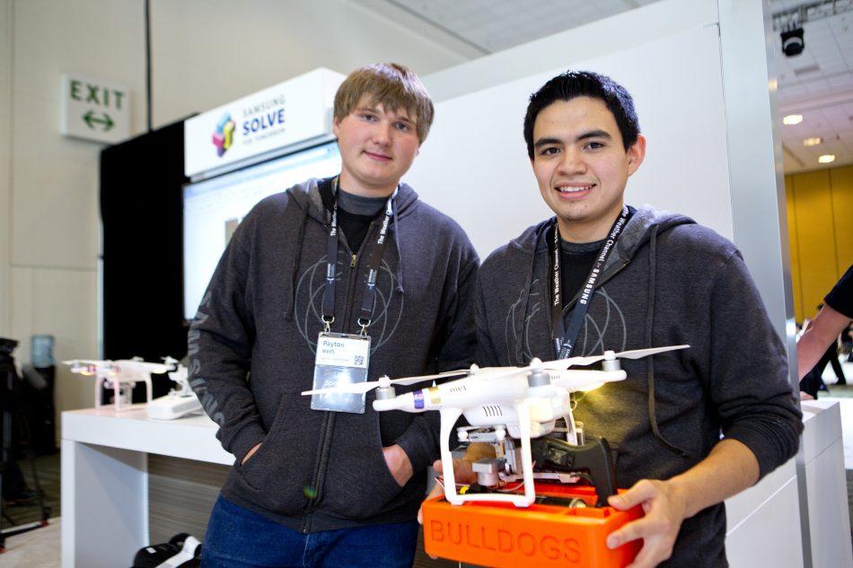 Solve for Tomorrow Student Alumni at Samsung Developer Conference 2017