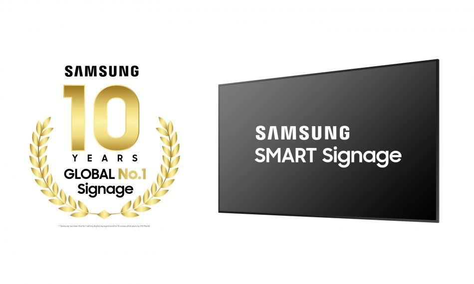Samsung 10 years No.1 in Digital Signage_2