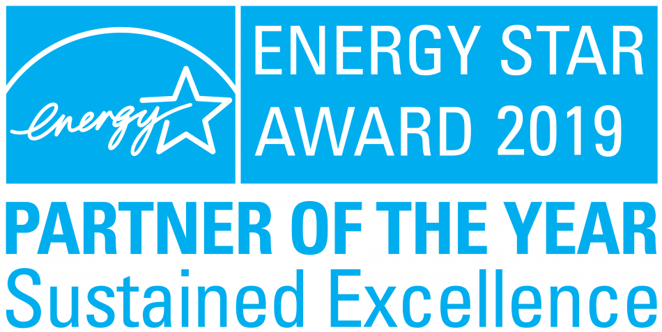 Samsung Electronics America received the highest honor in the ENERGY STAR Awards category, the U.S. Environmental Protection Agency's (EPA) 2019 ENERGY STAR® Partner of the Year – Sustained Excellence Award.