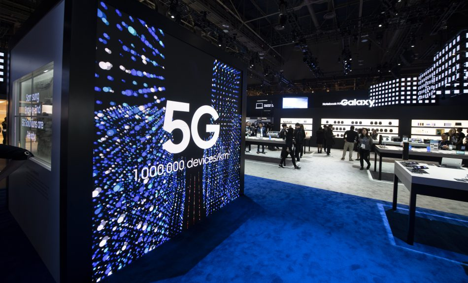Samsung Leads Worldwide 5G Network Market (CES 2019)